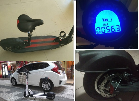 希洛普电动滑板车细节图