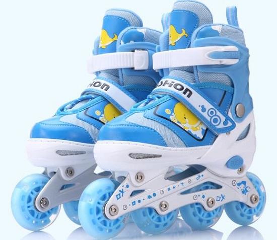 路狮ls-1234儿童轮滑鞋