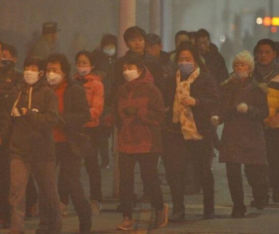 冬天里的雾霾