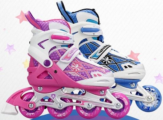 飞鹰NS儿童轮滑鞋