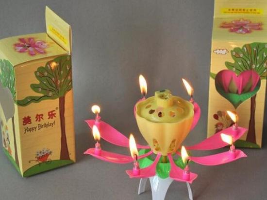 音乐生日蜡烛