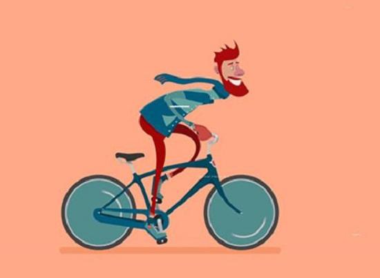 椭圆机有点像捏着刹车骑自行车