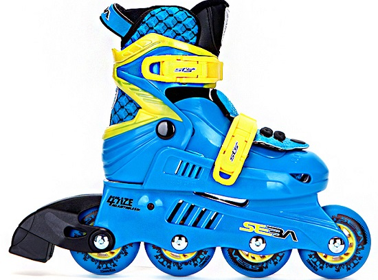 新款的米高MS3儿童轮滑鞋