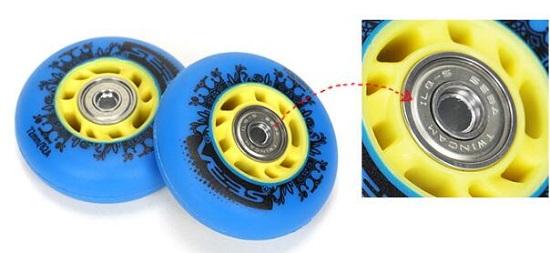 米高MS3的轮子和轴承