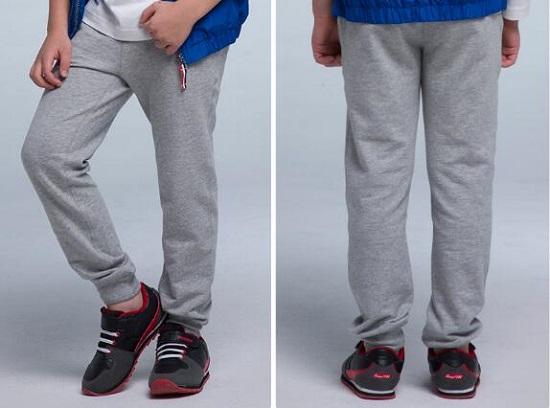 如何给孩子挑选运动裤