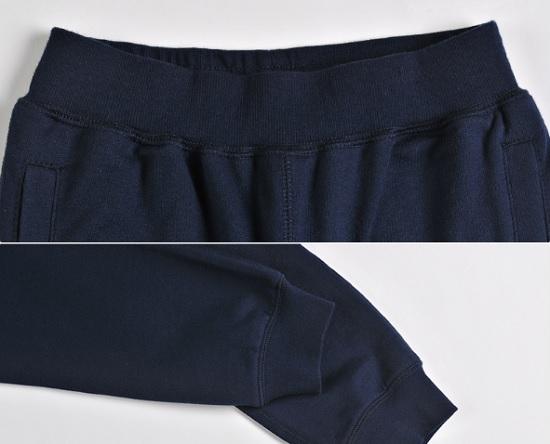 童裤的裤腰和裤脚