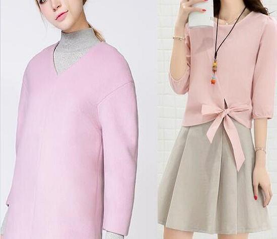 粉色和灰色的搭配