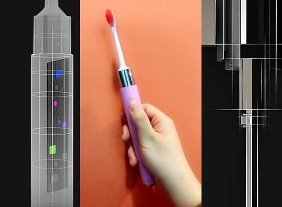 电动牙刷内部传感器图片