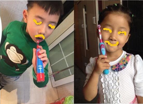 DB4510k电动牙刷适合的儿童