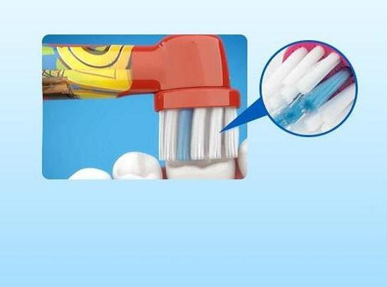 欧乐B冰雪奇缘款儿童旋转型点动牙刷