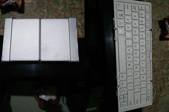 三折叠键盘