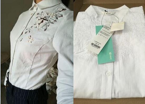 棉立方衬衫