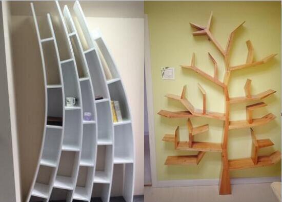 创意风格的书架