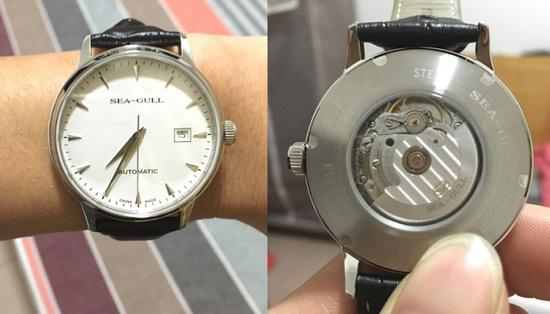 海鸥机械手表