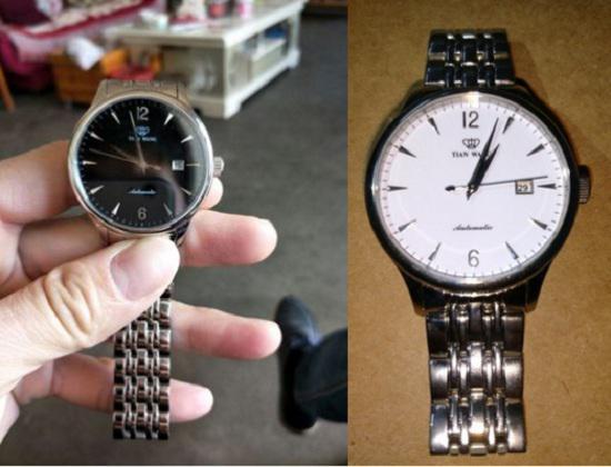 天王机械手表