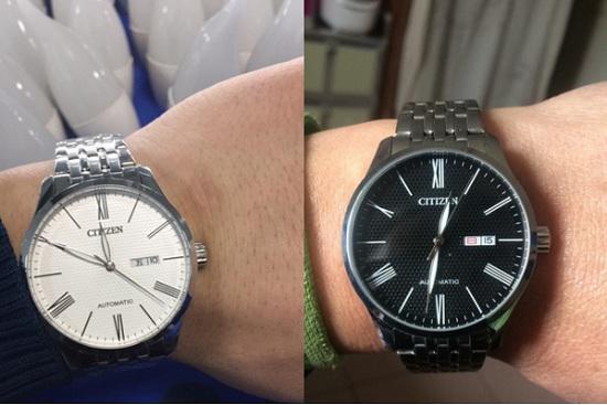 西铁城机械手表