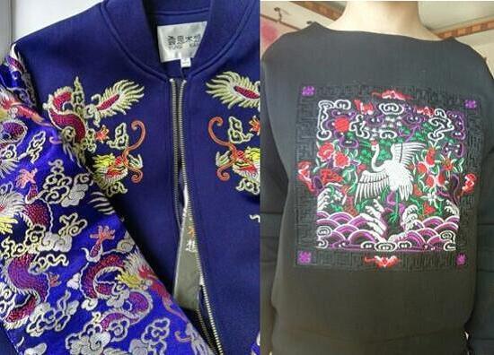 太空棉刺绣棒球服