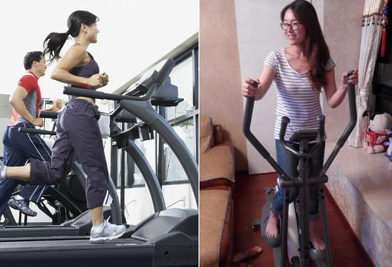 跑步机和椭圆机