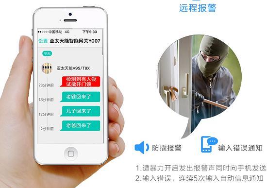 智能门锁app检测