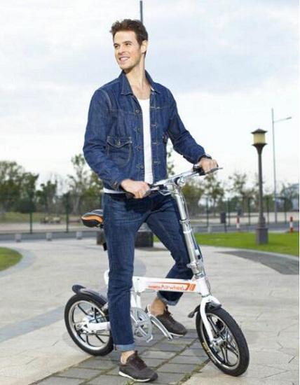 a爱尔威(airwheel)R5电助力自行车