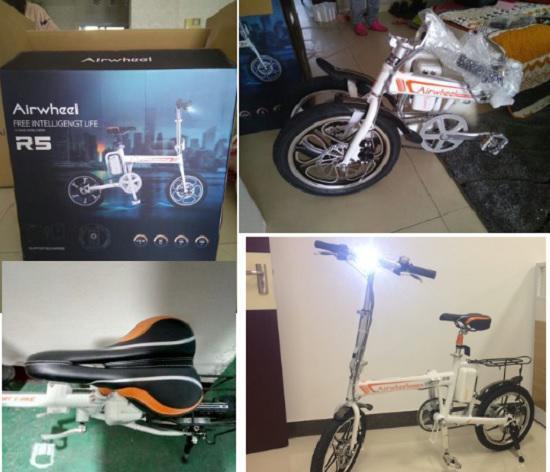 爱尔威(airwheel)R5电助力自行车