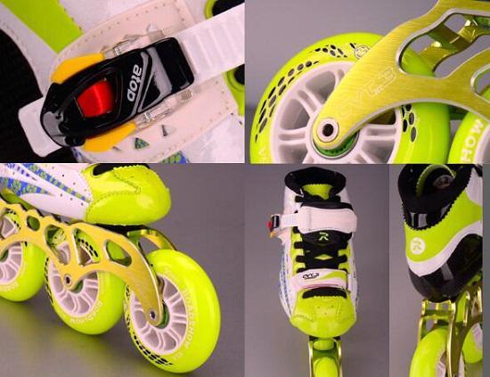 儿童竞速轮滑鞋