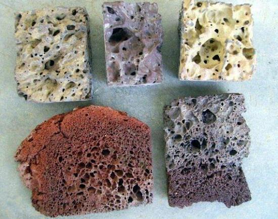 各种火山岩