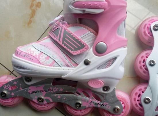 捷豹儿童轮滑鞋