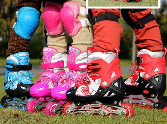 金峰儿童休闲轮滑鞋