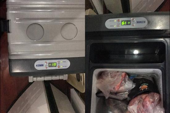 科敏25L压缩机式车载冰箱