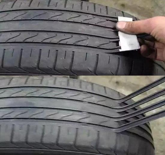 翻新轮胎胎纹制作