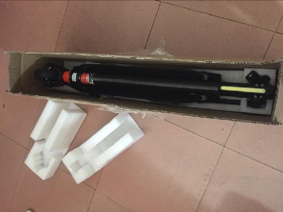 拆开包装后的Jasion电动滑板车