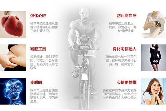 动感单车运动的好处