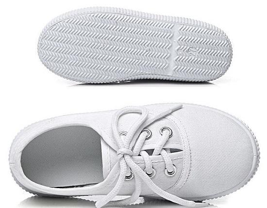 经典白网鞋