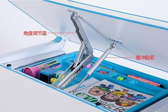 桌面倾斜度调节装置