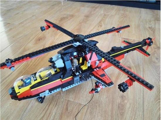 启蒙牌直升飞机套装
