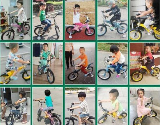 健儿儿童自行车买家秀