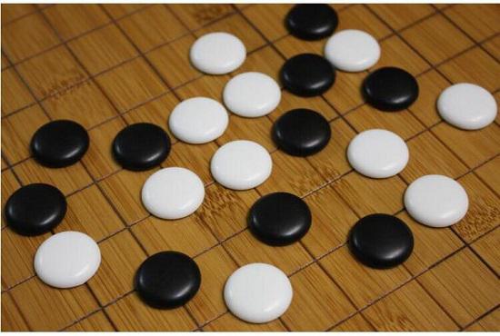 围棋棋具之密胺子