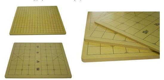 围棋棋具之密度板棋盘