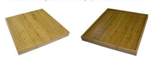 围棋棋具之竹棋盘