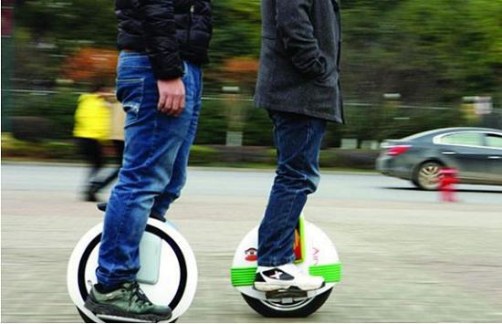 单轮电动平衡车