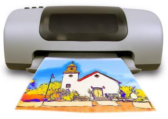 家用彩色喷墨打印机