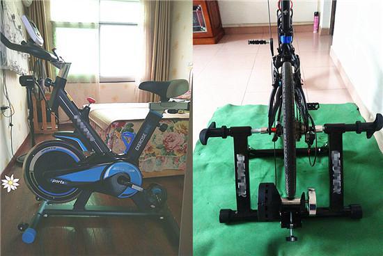 动感单车与骑行台