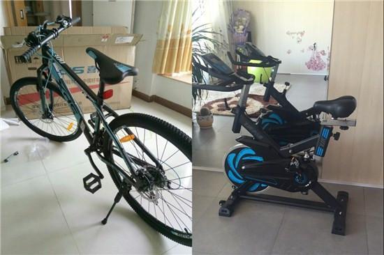 自行车和动感单车