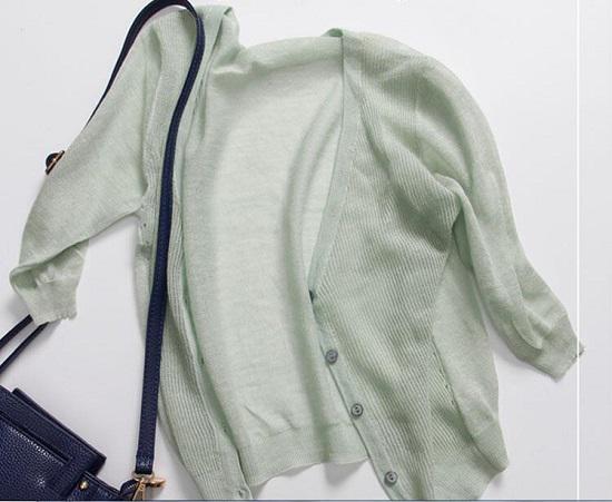 夏季女士空调衫网购及穿着体验
