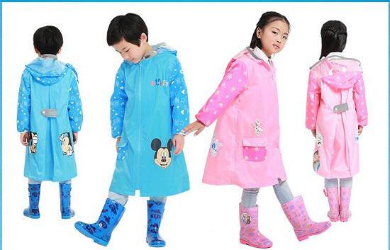 如何挑选儿童雨衣