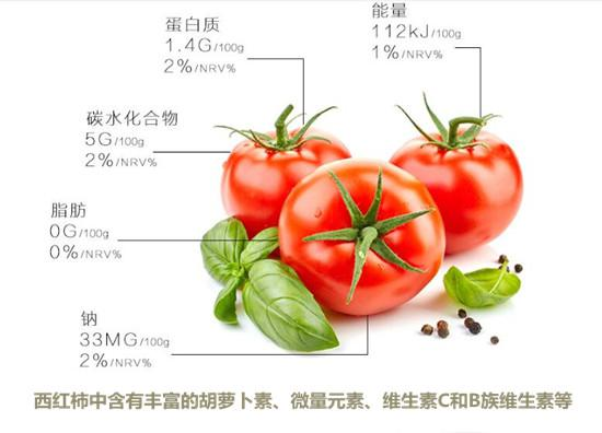 西红柿的营养成分