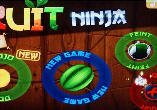 《水果忍者》游戏