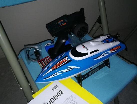 网购玩具遥控船的经历和教训