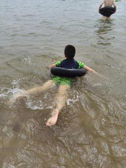 昌黎黄金海岸的海水